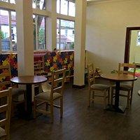 Kids area - Full of imaginative toys and books