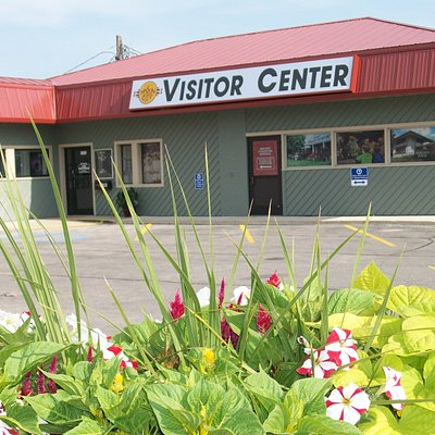 Mason City Visitor Information Center, located at 2021 4th Street SW.