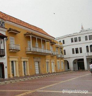 Casa del Marqués de Premio Real , típica casa Colonial