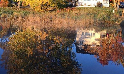 The beauty of fall at Lang House