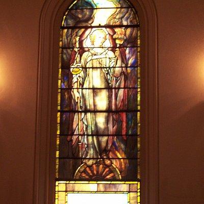 1909 Tiffany, Archangel Raphael
