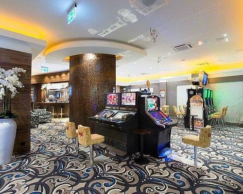 Slot machine area