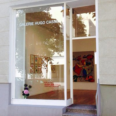 Die Galeriefront