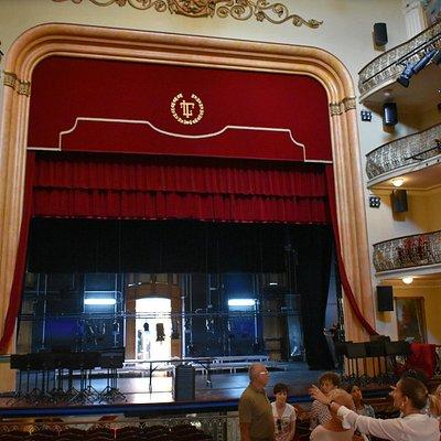 Escenario del Teatro Leal, La Laguna