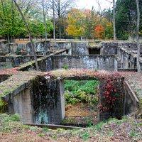 Duke Farm's Old Mansion Foundation - yow its huge