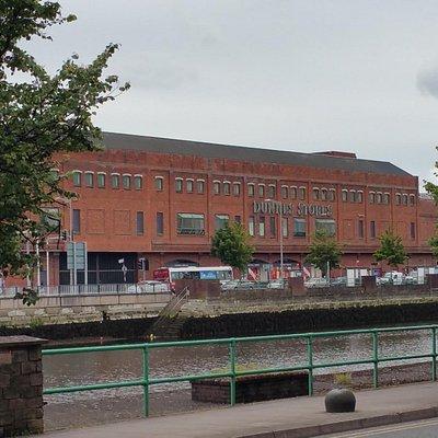 Front Facade of Merchant's Quay Shopping Centre