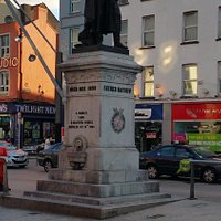 Father Mathew Statue in City Centre Cork