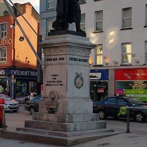 Father Mathew Statue in City Centre Cork