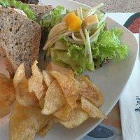 Whole Grain Tuna Sandwich