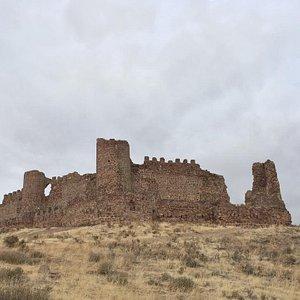 Castle ruins above Almonacid, Spain