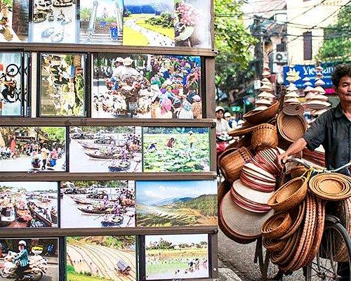 Vendeur à Hanoi