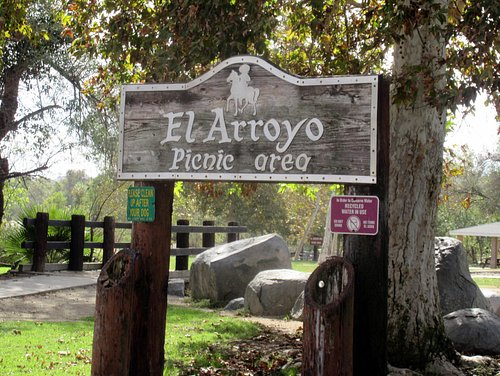 One of Several Picnic Areas, Kit Carson Park, Escondido, Ca