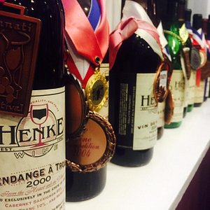 Lots of award winning wines over the years