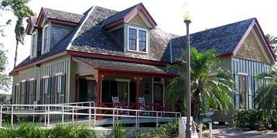 Home of Lon C. Hill, Harlingen's founding father, built in 1904