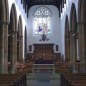 St Mary's, Woodbridge. Interior