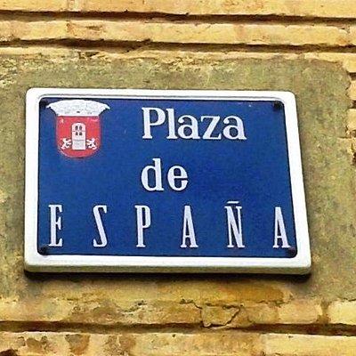 placa de la plaza