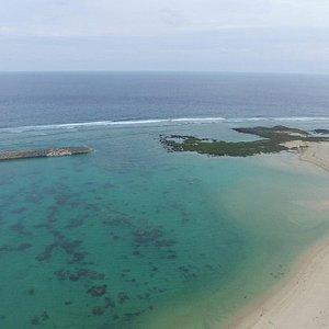 日本最西端の島にあるとても美しい砂浜です