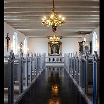 Midtergang Agger kirke
