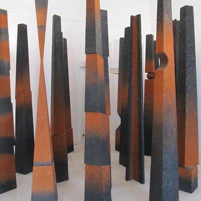 Sculpture in permanent exhibition