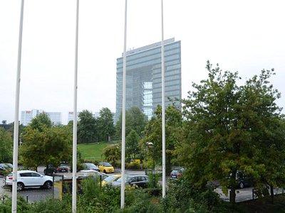 Budynek Brama Miasta w Duesseldorfie