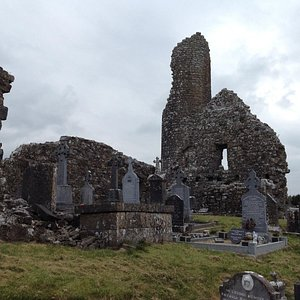 A view of the ruins at Kilbannon