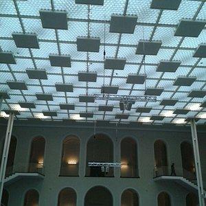 Lichthof ( Teto de vidro)