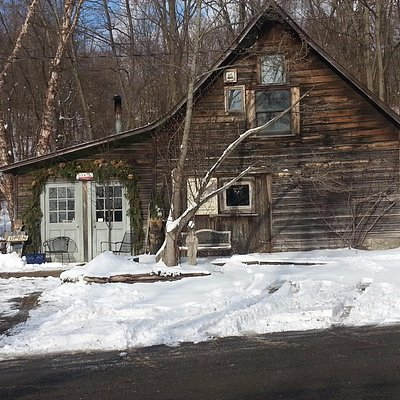 Exterior, rodgers Book Barn; or, Don't Tell A Book By Its Cover