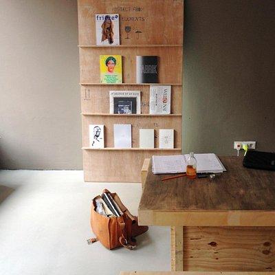 artist books and magazines