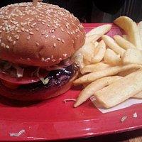 Bonzai burger was yummy