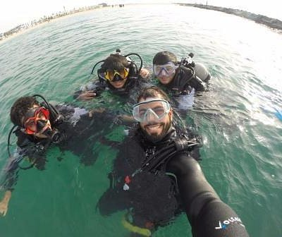 Diving in Dubai