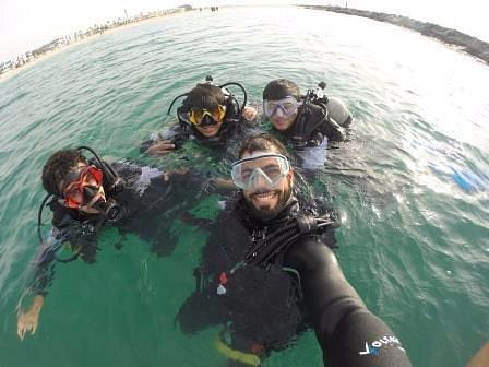 Diving in Dubai