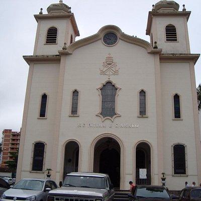 Fachada Frontal, Matriz de N. Sra. de Fátima, Santo Amaro