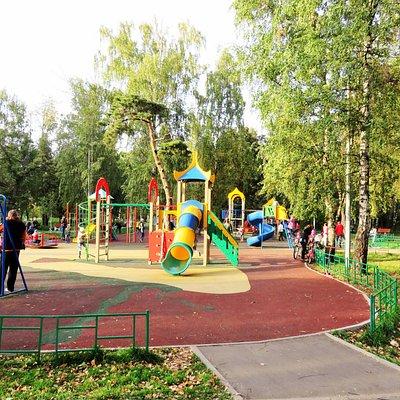 Москва. Парк Березовая Роща.