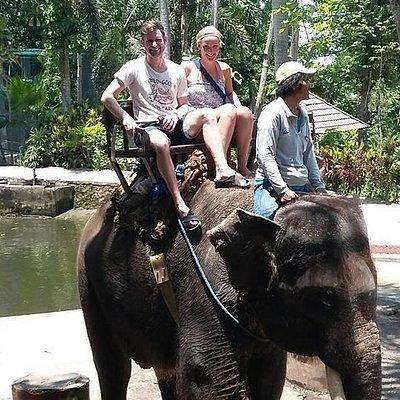 Bali Elefantenreiten @bali abenteuer.com