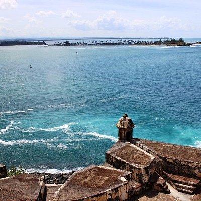Вид из форта