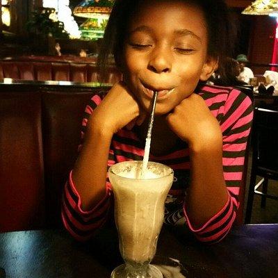 The milkshake Rocked !