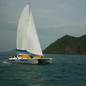 Amadeus sailing Thailand