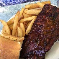 1/2 rack of BBQ ribs