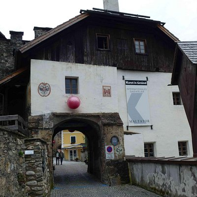 Yes, you can drive your car through this medieval gate