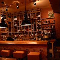 De prachtige ambiance van brasserie/wijnbar Streets.