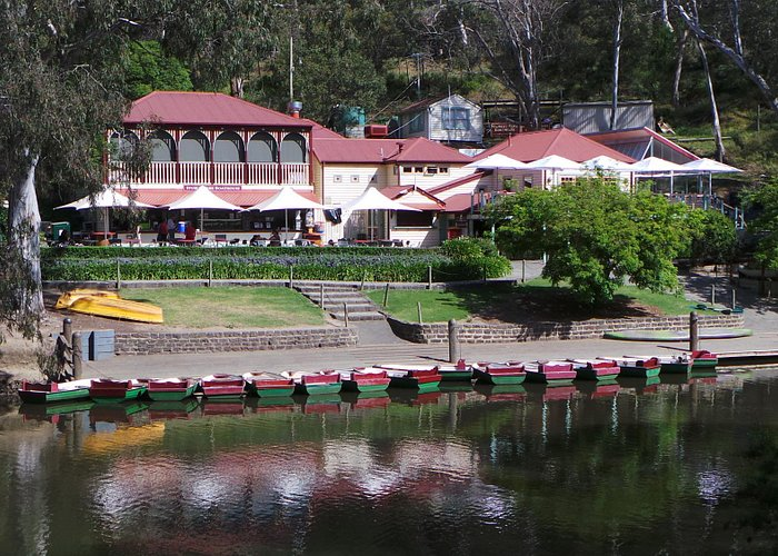 View from across the Yarra
