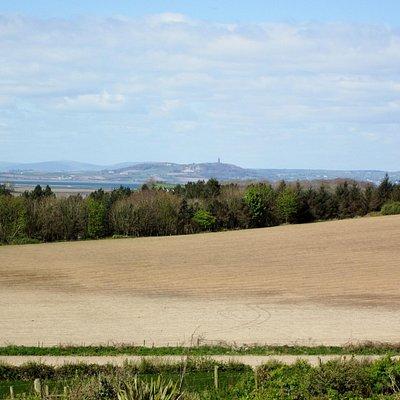 Ards Peninsula looking at Scrabo Hill