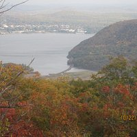 View of the Hudson River From Perkins Memorial Drive
