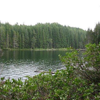Morte Lake on its western side