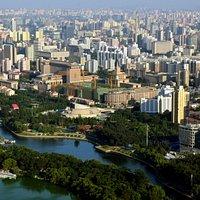 Beijing CCTV Antenna View