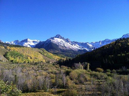 View up Molas Pass