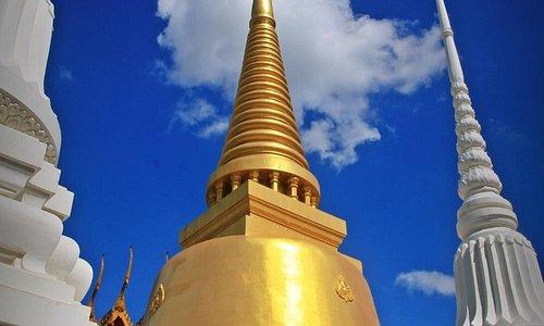 Golden stupa @ Wat Senassanaram - Ayutthaya