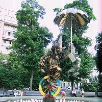 Памятник-фонтан Клоуны