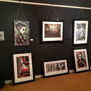 The Eakin Gallery, art by Terry Bradley