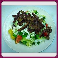 Gryo Greek Salad